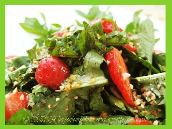 2-salade de pissenlit et de fraises OK