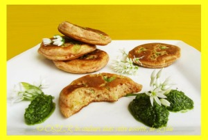 5-blinis d'ail des ours au curry OK